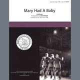 Traditional Mary Had A Baby (arr. David Wright) Sheet Music and Printable PDF Score | SKU 407089