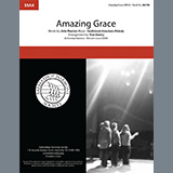 Traditional American Melody Amazing Grace (arr. Tom Gentry) Sheet Music and Printable PDF Score | SKU 407055