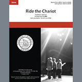 Traditional Spiritual Ride The Chariot (arr. Barbershop Harmony Society) Sheet Music and Printable PDF Score | SKU 432634