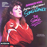 Bernadette Peters Unexpected Song (from Song & Dance) Sheet Music and Printable PDF Score | SKU 417611