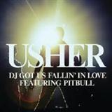 Usher DJ Got Us Fallin' In Love (feat. Pitbull) Sheet Music and Printable PDF Score | SKU 104785