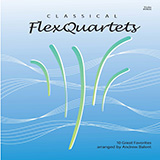 Various Classical Flexquartets (arr. Andrew Balent) - Violin Sheet Music and Printable PDF Score | SKU 455825