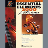 Download or print Various Essential Elements 2000 For Strings Book 1 - Cello (Book Only) Digital Sheet Music Notes and Chords - Printable PDF Score