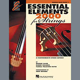 Download or print Various Essential Elements 2000 For Strings Book 1 - Double Bass (Book Only) Digital Sheet Music Notes and Chords - Printable PDF Score
