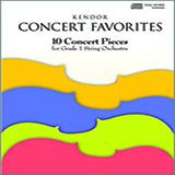 Various Kendor Concert Favorites - Bass Sheet Music and Printable PDF Score | SKU 124771