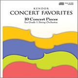 Various Kendor Concert Favorites - Viola Sheet Music and Printable PDF Score | SKU 124769