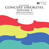 Various Kendor Concert Favorites, Volume 3 - 3rd Violin (Viola T.C.) Sheet Music and Printable PDF Score | SKU 455354