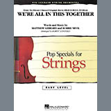 Robert Longfield We're All in This Together (from High School Musical) - Violin 3 (Viola T.C.) Sheet Music and Printable PDF Score | SKU 271838