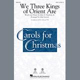 John Leavitt We Three Kings Of Orient Are Sheet Music and Printable PDF Score | SKU 251156