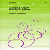 Kevin Kaisershot Wedding Album For Brass Quartet - 2nd Trombone Sheet Music and Printable PDF Score   SKU 343094