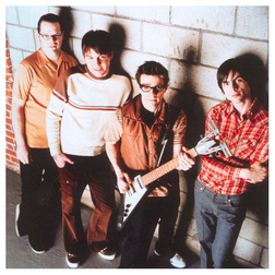 Download Weezer 'Thank God For Girls' Digital Sheet Music Notes & Chords and start playing in minutes