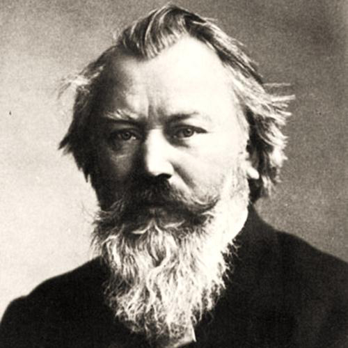 Johannes Brahms image and pictorial