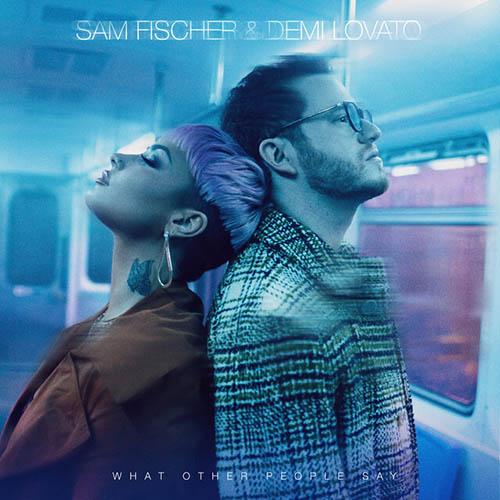 Sam Fischer & Demi Lovato image and pictorial