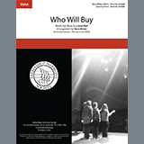 Lionel Bart Who Will Buy (from Oliver!) (arr. Dave Briner) Sheet Music and Printable PDF Score | SKU 475304