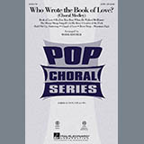 Mark Brymer Who Wrote The Book Of Love? (Choral Medley) - Baritone Sax Sheet Music and Printable PDF Score | SKU 270286