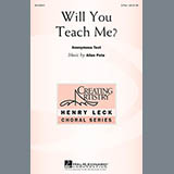 Allen Pote Will You Teach Me? Sheet Music and Printable PDF Score | SKU 151217