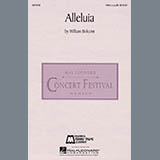 Download or print William Bolcom Alleluia Digital Sheet Music Notes and Chords - Printable PDF Score