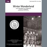 Dick Smith & Felix Bernard Winter Wonderland (arr. Ed Waesche) Sheet Music and Printable PDF Score | SKU 475314