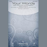 Ed Hogan Your Words - Synthesizer & Bass Sheet Music and Printable PDF Score   SKU 356196