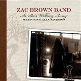 Download or print Zac Brown Band As She's Walking Away (feat. Alan Jackson) Digital Sheet Music Notes and Chords - Printable PDF Score