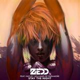 Download or print Zedd Stay The Night (feat. Hayley Williams) Digital Sheet Music Notes and Chords - Printable PDF Score