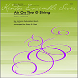 Ziek Air On The G String (from Orchestral Suite No. 3) - Full Score Sheet Music and Printable PDF Score   SKU 313798